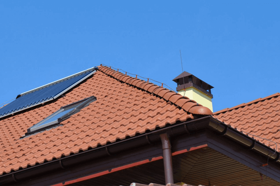 Roof Lightning Protection System