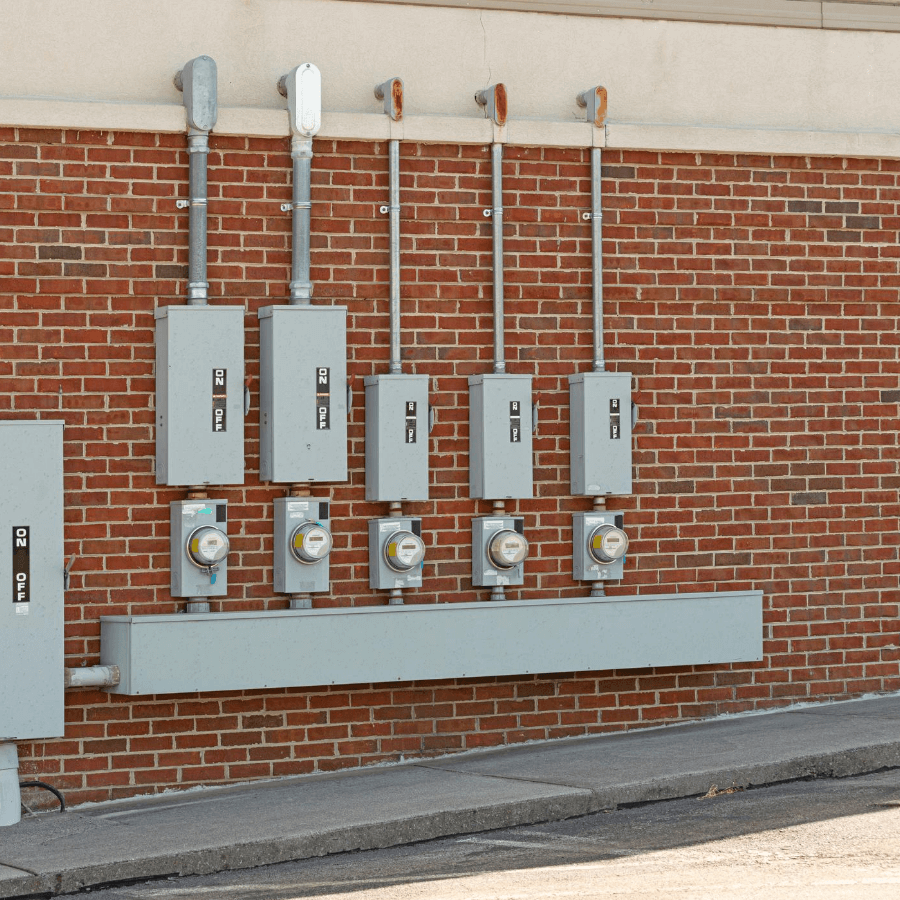 exterior commercial electrical services