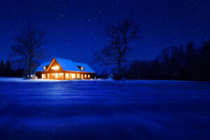 Winter Home Electricity