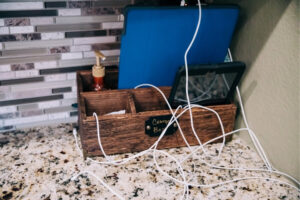 Let's Get Organized! Tips To Help You Get Your Electronic Devices and Cords Organized