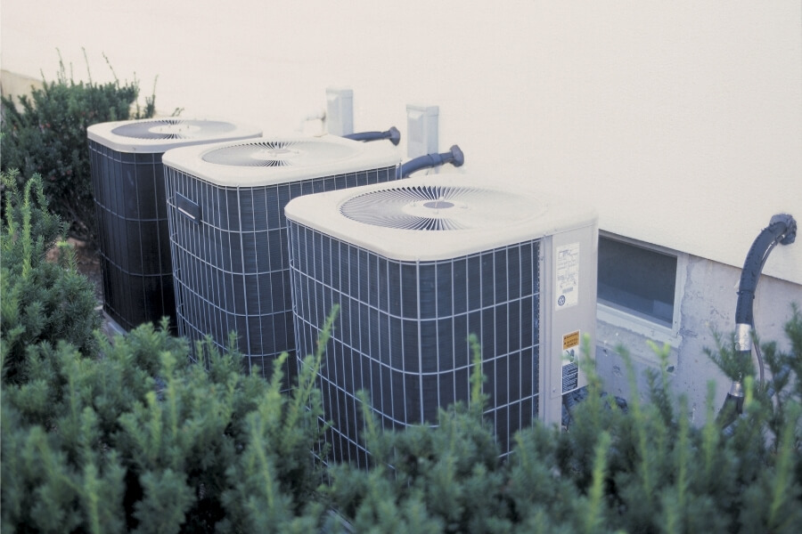 Air Conditioning Compressors with Shrubs